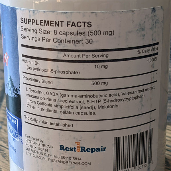 InvigoRest Capsules ingredients