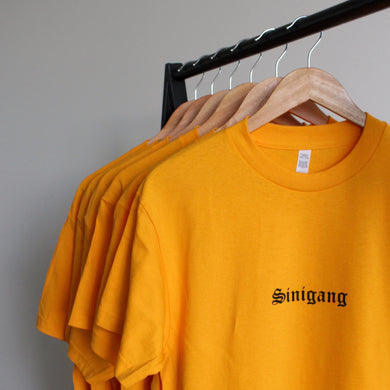 SINIGANG OG Tee: Yellow