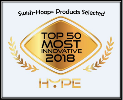 Swish Hoop® Selected as Top 50 Most Innovating 2018 Hype