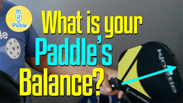Know the head balance of your paddle