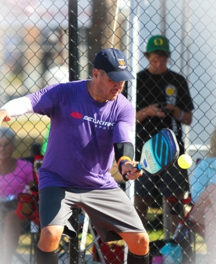 How much time should I spend on the pickleball drive (hard shot off the bounce)?