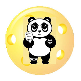 Molly The Panda Pickleball Collection
