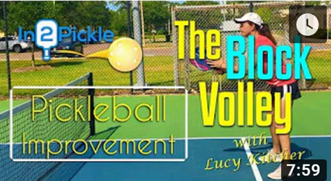 The Block Volley with GAMMA Pro Lucy Kitcher