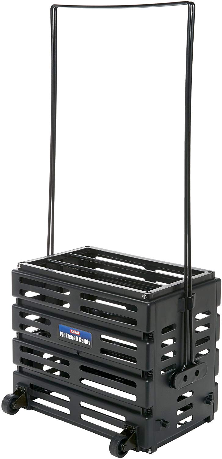 Deluxe Pickleball Caddy with Wheels