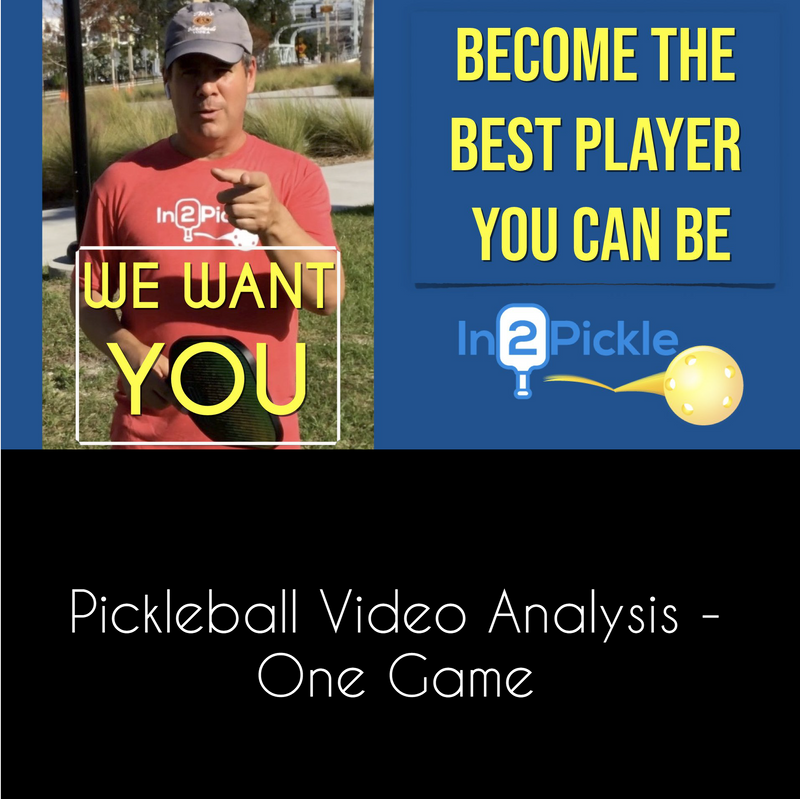 In2Pickle Personalized Video Analysis - Analysis for One Game