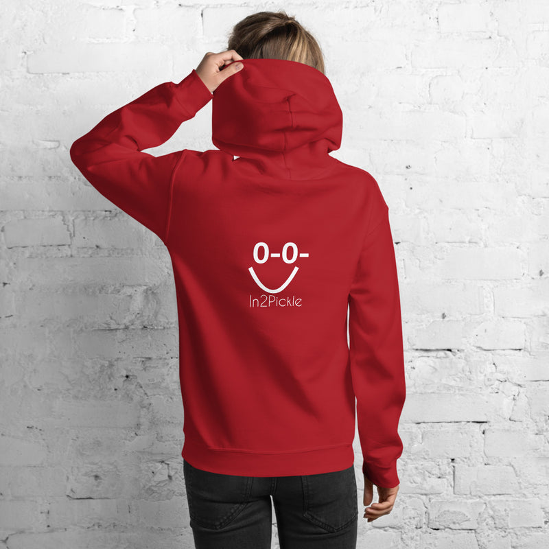 Pickleball Hoodie with Zero Zero Smile Monkey Design