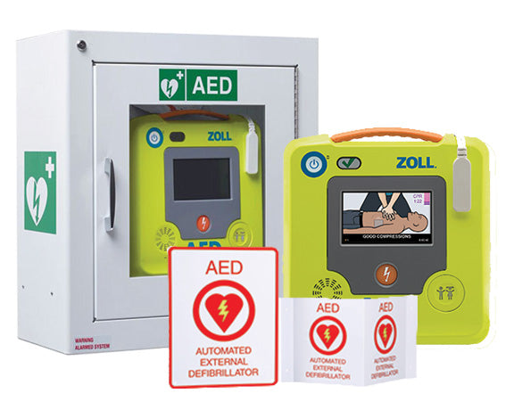 ZOLL AED 3 Fully-Automatic Complete Package