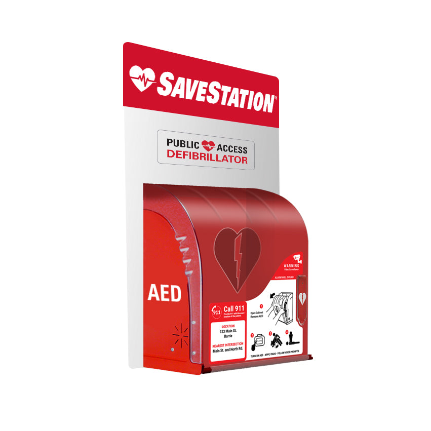 SaveStation Basic AED Cabinet (Indoor/Outdoor)