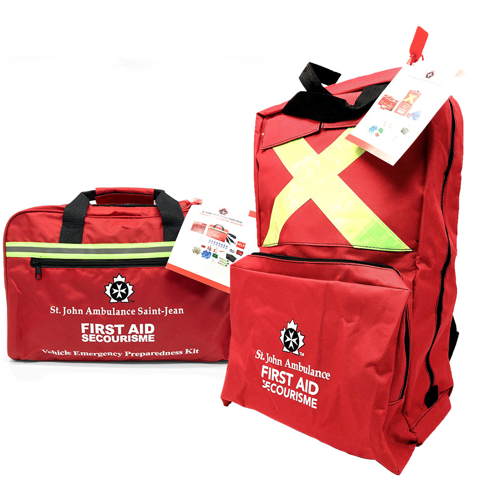 home & vehicle emergency preparedness kit package