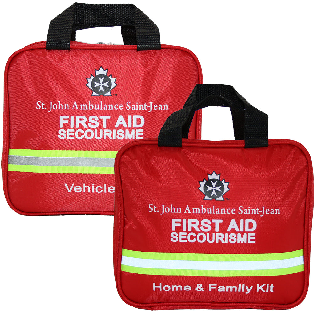 home and family first aid kit, vehicle first aid kit bundle