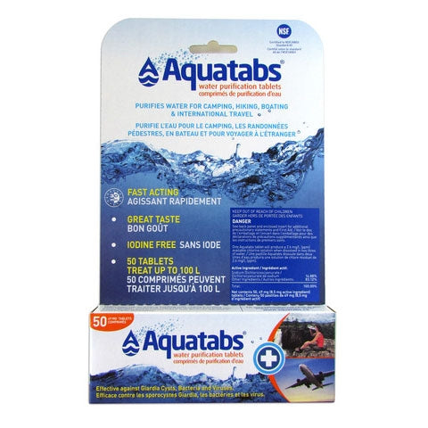 Water And Filtration, Aquatabs 49Mg 50/ Pack