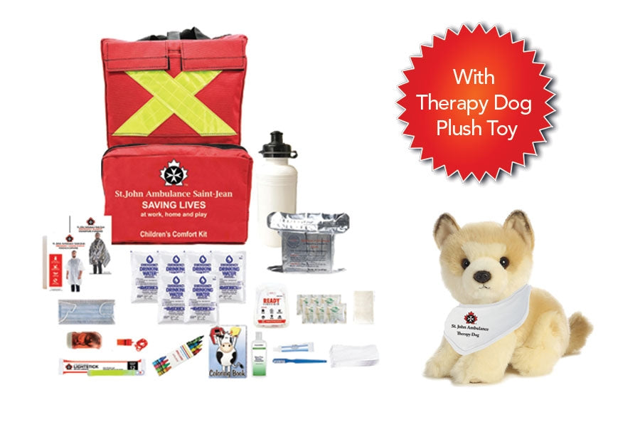 Emergency Preparedness Children's Comfort Kit (With Plush Toy)