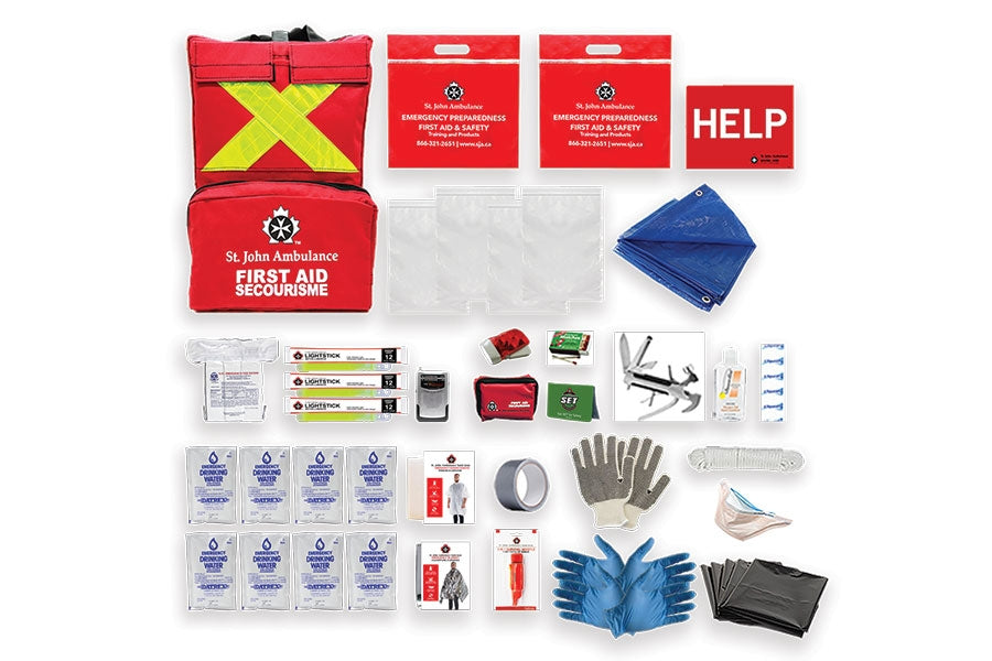Emergency Preparedness Deluxe Kit (Home) /1 Person