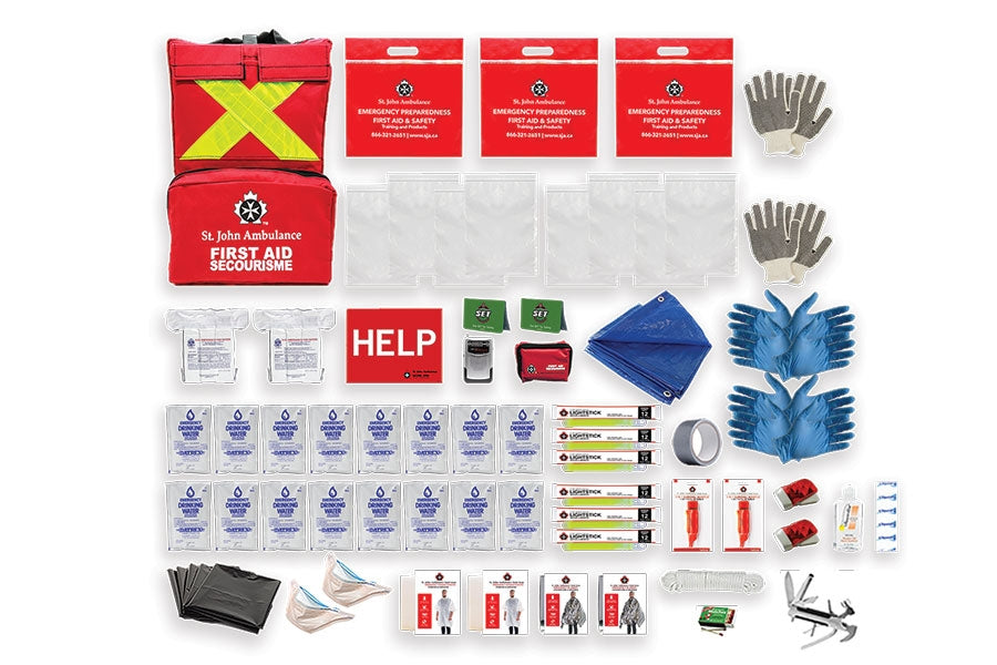 Emergency Preparedness Deluxe Kit (Home) /2 Person