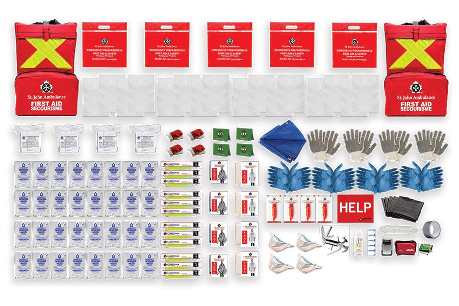 Emergency Preparedness Deluxe Kit (Home) /4 Person