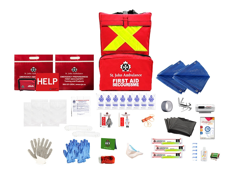 Emergency Preparedness Deluxe Leader Kit (Work)