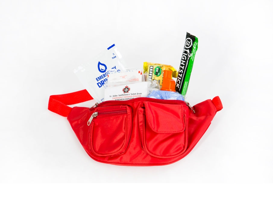 $35 Donation receives thank you Emergency Preparedness Fanny Kit for Hiking/Biking