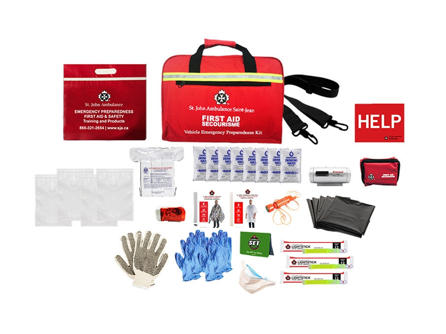 Emergency Preparedness Vehicle Kit