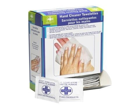 Hand Cleaner Wipes, Pio Brand - 100/Box
