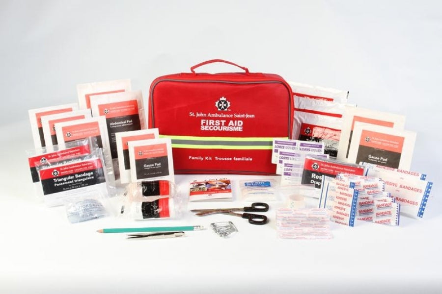 home & family first aid kit