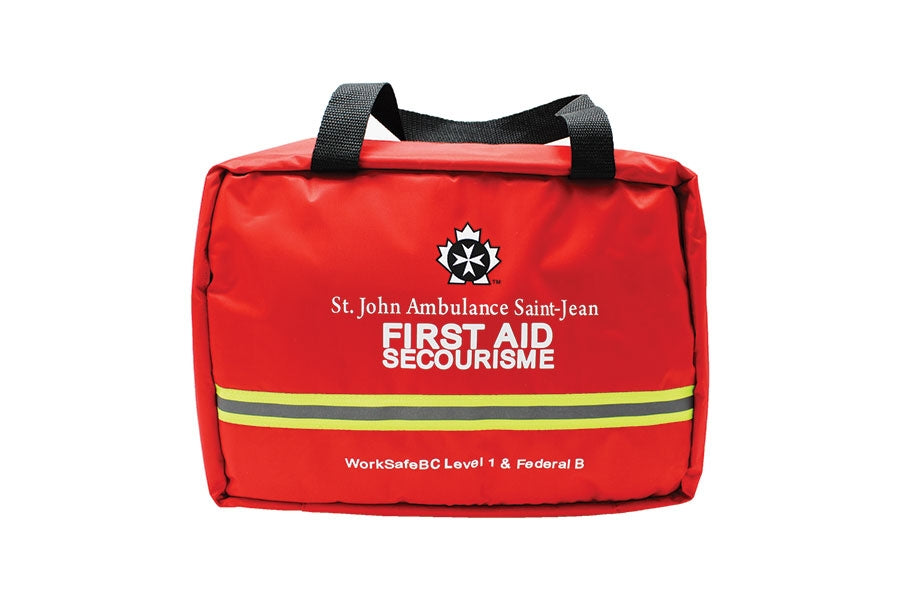 Worksafebc Level 1/Federal Level B Kit (Soft Bag) - New Guidelines