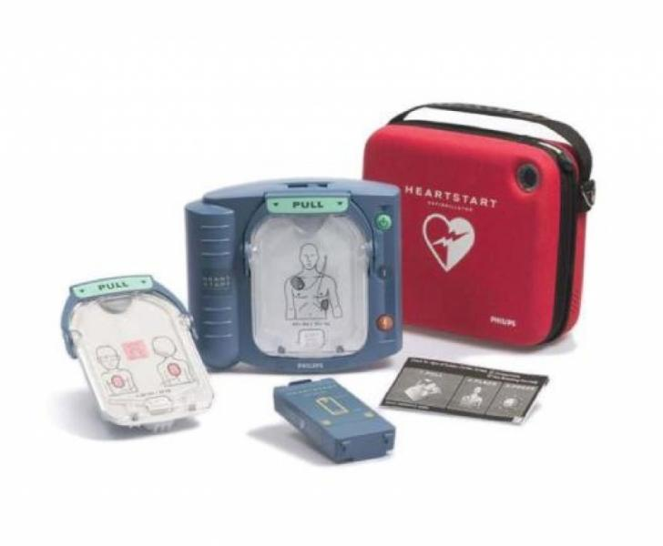 Philips HeartStart OnSite AED with Ready-Pack Configuration, Standard Carrying Case - EA