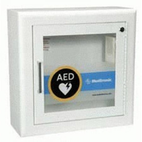 AED Wall Cabinet With Alarm, Surface Mount, For Lifepak AED