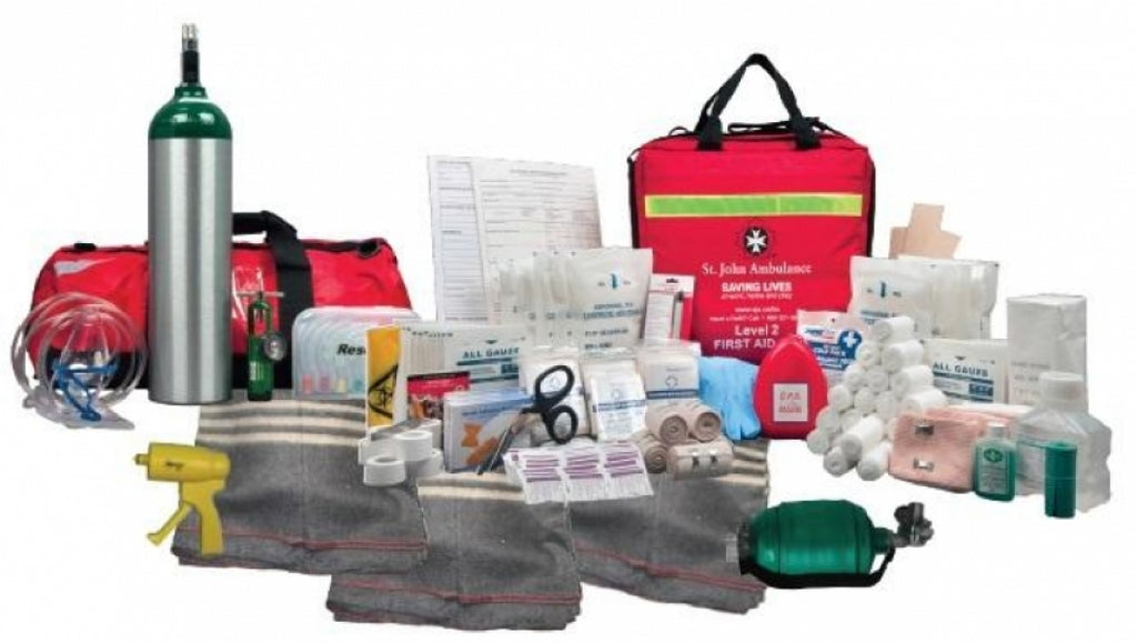 Worksafebc Level 3 Complete Kit (W/ Cotton Blanket)