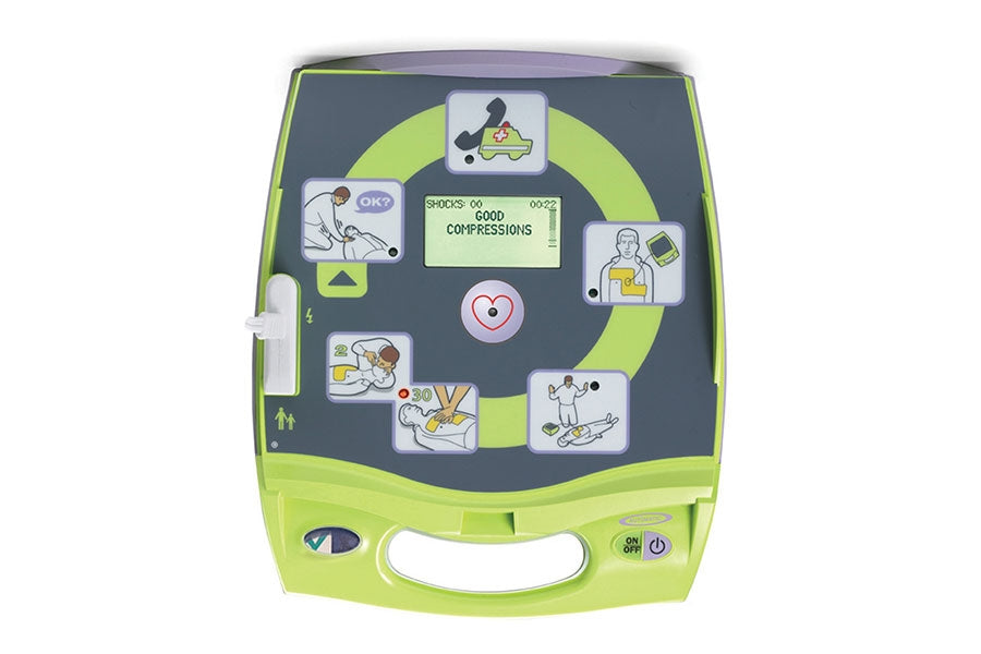 Zoll AED Plus® Semi-Automated AED Back