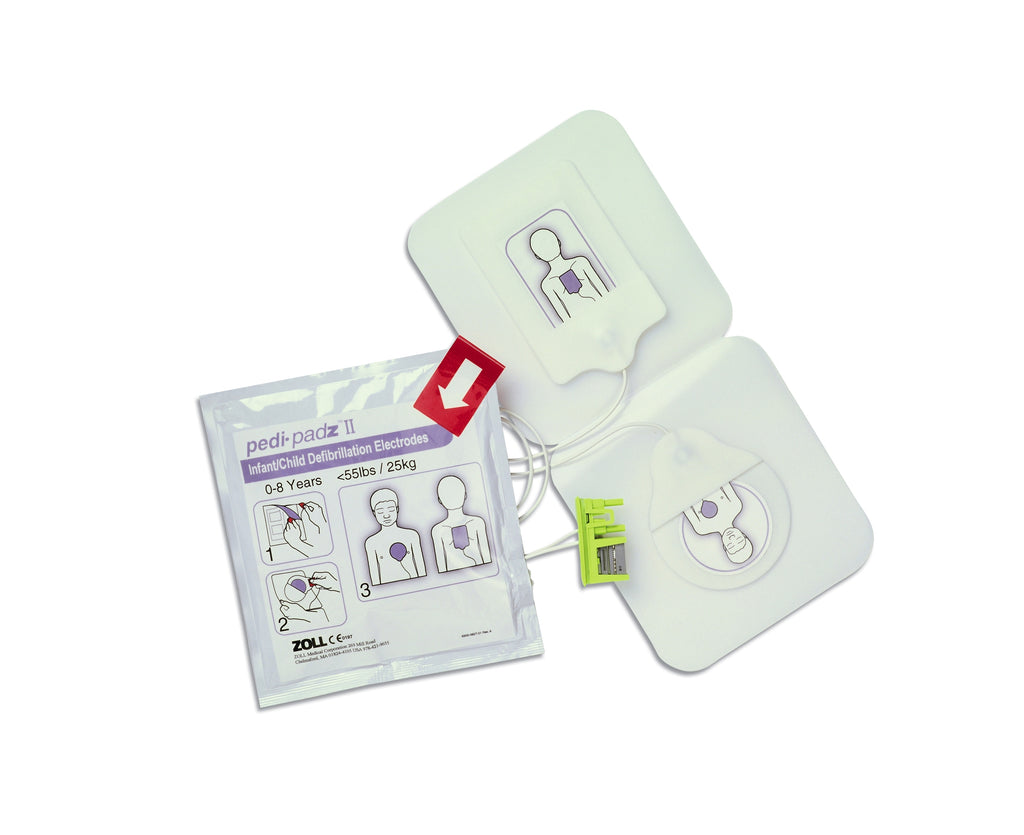 Pedi-Padz® Ii Pediatric Pads For Zoll AED Plus