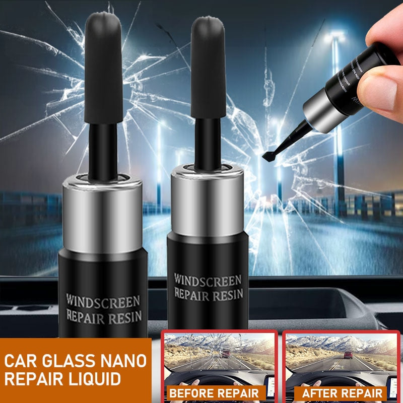 Car Windshield Blade Fluid Glass Repair Auto Glass Nano Repair Liquid