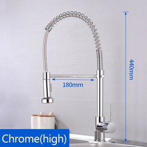 Accipiter Spring Kitchen Sink Faucets- Movable tap