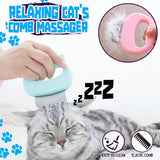 Pet Cat Grooming Massage Brush - Cat Relaxing Comb