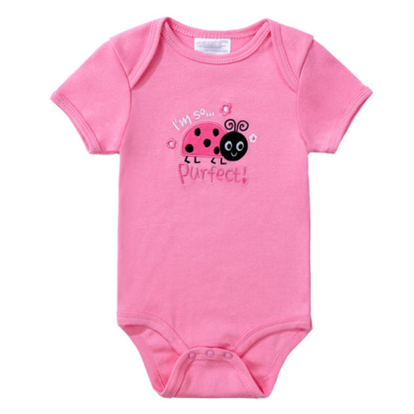 """I Am So Purfect"" Boys Romper - TinyTacker"