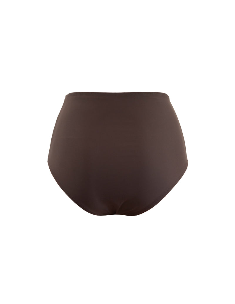 HIGH WAIST BOTTOM - CACAO