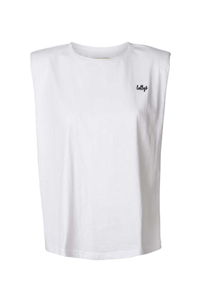 Lollys Laundry Alex Tee T-shirts / Short Sleeve Tops 01 White