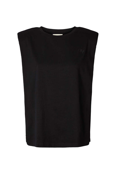 Lollys Laundry Alex Tee T-shirts / Short Sleeve Tops 99 Black