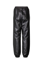Lollys Laundry Mona Leather Pants Pants / Shorts 99 Black