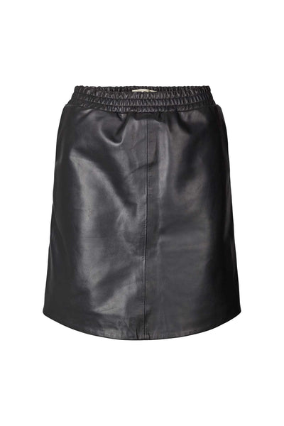 Lollys Laundry Edda Leather Skirt Skirts 99 Black