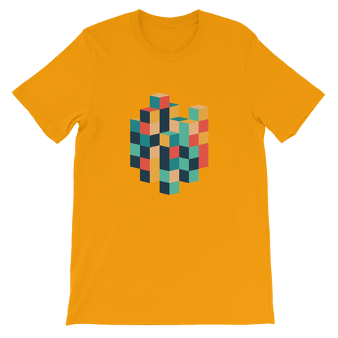 Stack Those Cubes Unisex T-Shirt - Juger Shop