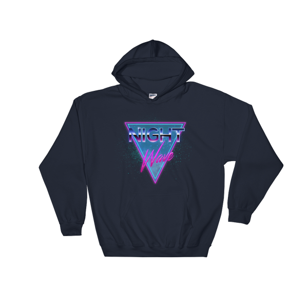 Night Wave Unisex Hooded Sweatshirt - Juger Shop