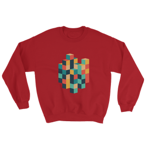 Stack Those Cubes Unisex Sweatshirt - Juger Shop
