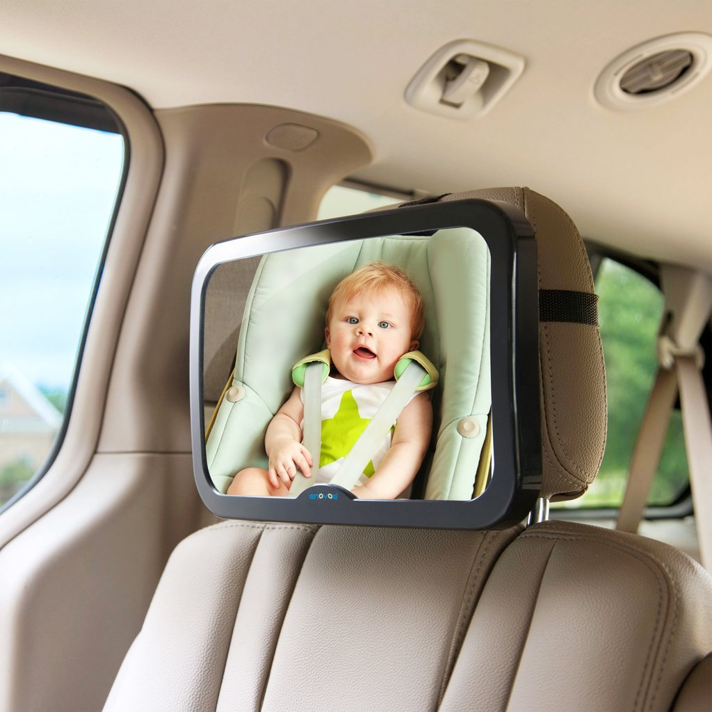 Premium Rear Car Seat Mirror View For Child Safety
