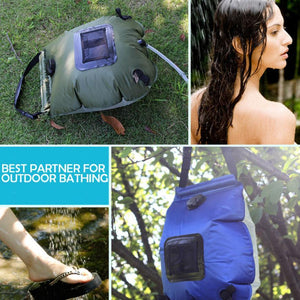 Outdoor Outside Portable Camping Shower For RV Camper Freestanding