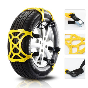 Snow Tire Chains Anti-Slip Tire for Cars SUV Trucks