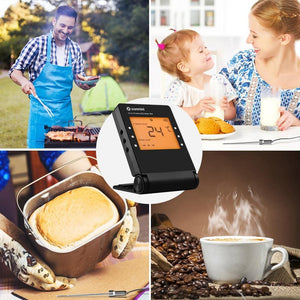 Bluetooth Wireless Grill Thermometer For BBQ Smoker