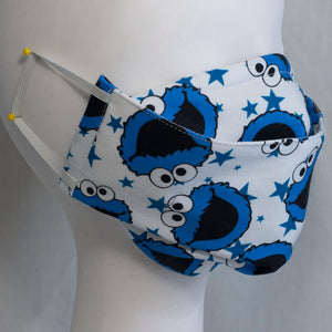 Mask - Cookie Monster on White
