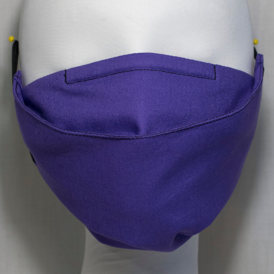 Mask - Plain Purple