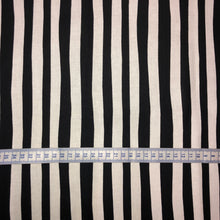 Load image into Gallery viewer, Mask - Black Beetlejuice Stripe on White