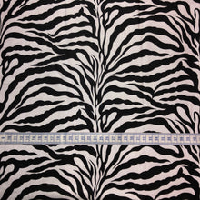 Load image into Gallery viewer, Mask - Black Zebra on White